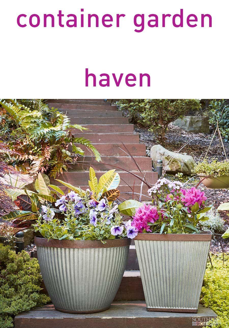 16 Westlake Square Rustic Galvanized Container Gardening