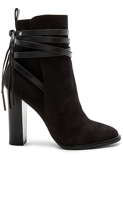 26e3b41664b Steve Madden Gaybel Bootie in Black Nubuck | Women's Shoes | Fashion ...