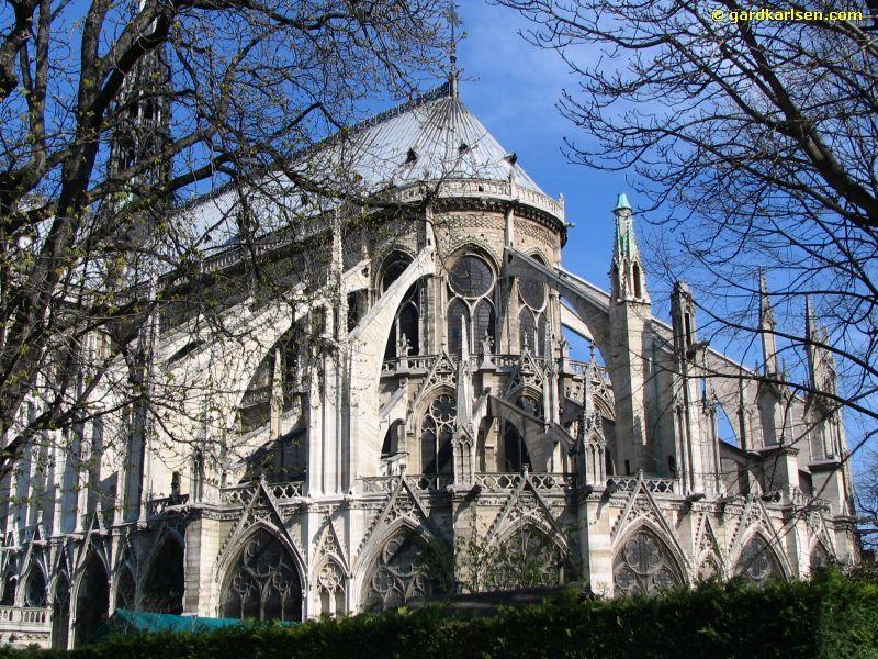 Notre Dame De Paris Flying Buttress
