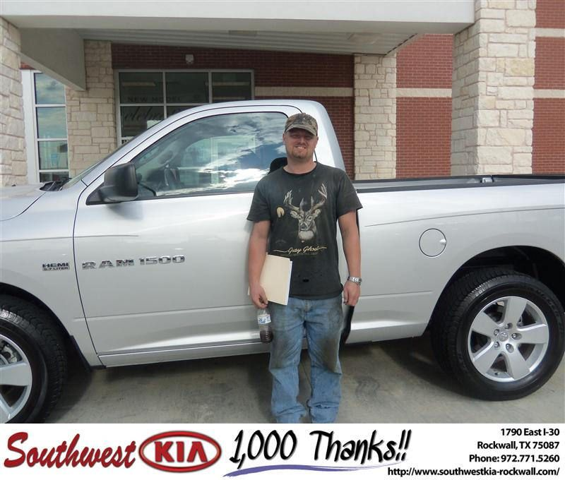 #HappyAnniversary to Rose Ware on your 2011 #Dodge Truck #1500 from Donald Weintraub at Southwest KIA Rockwall!