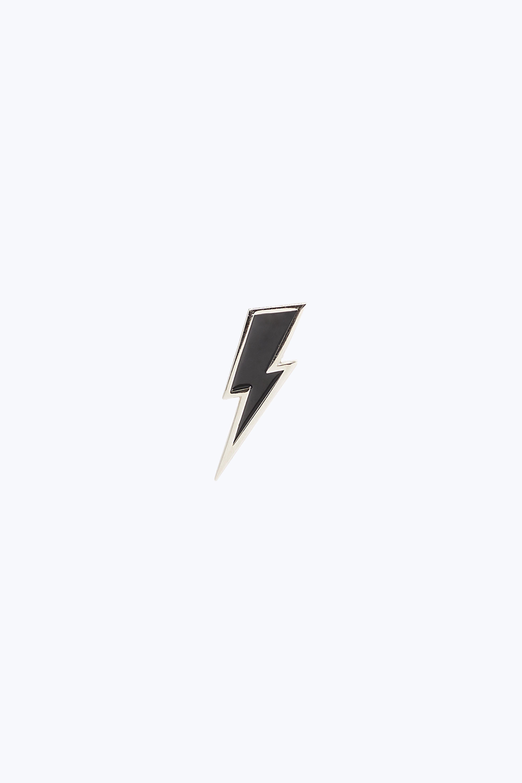 Enamel Lightning Bolt Pin In Silver Lightning Bolt Lightning Tattoo Iphone Light