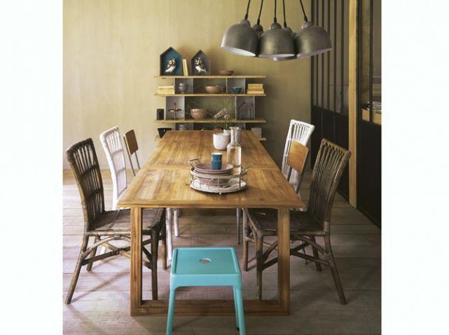 id es d co salle manger toutes nos id es d co pour une belle salle manger elle. Black Bedroom Furniture Sets. Home Design Ideas