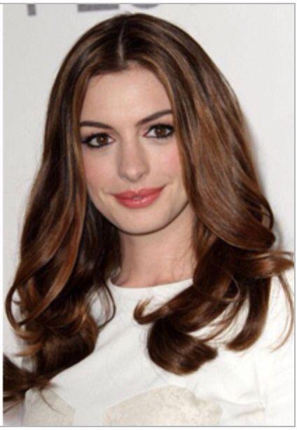 Anne Hathaway Long Hair Anne Hathaway Hair Oscar Hairstyles Oval Face Hairstyles