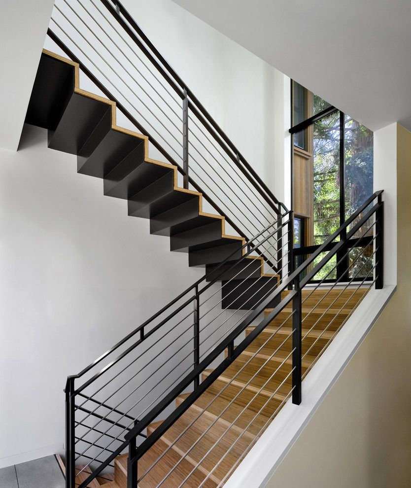 Фото перил для лестниц