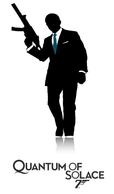 Minimalist Bond Poster Quantum Of Solace James Bond Quotes James Bond Theme James Bond