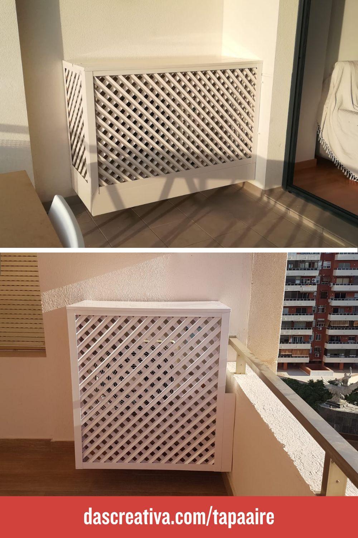 Rejillas De Ocultación Para Compresor De Aire Acondicionado En Terraza Aire Acondicionado Acondicionado Compresor De Aire