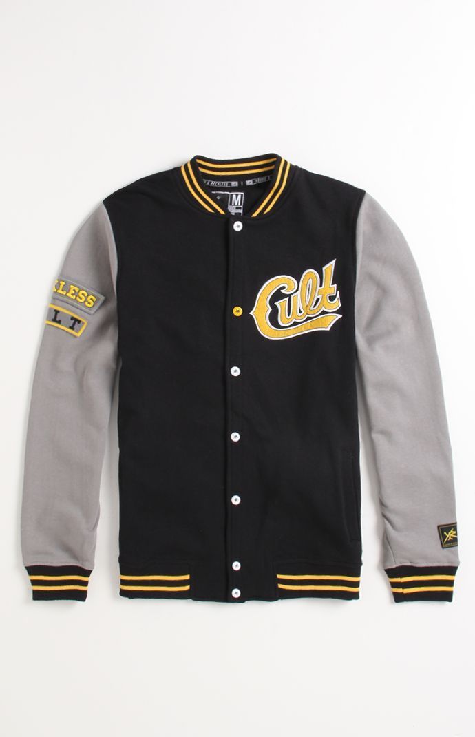 Young Reckless Cult Varsity Fleece  5f2144d63