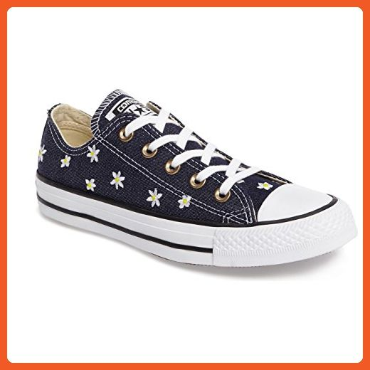 c2f145a42c7 Converse Chuck Taylor All Star Denim Floral Ox Navy Fresh Yellow White  Women s Classic Shoes - Sneakers for women ( Amazon Partner-Link)