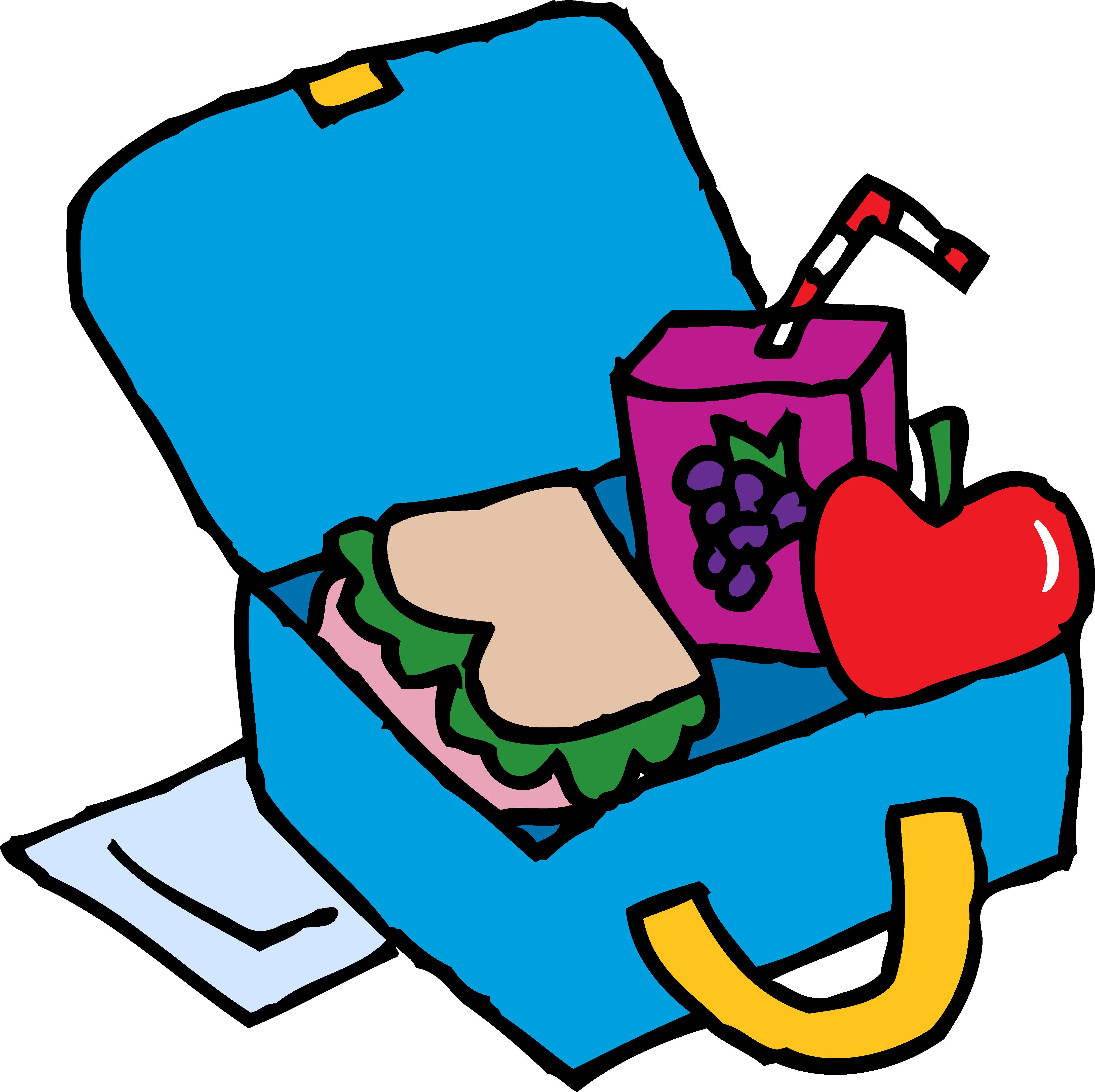 School Lunch Box Clip Art Clipart Panda