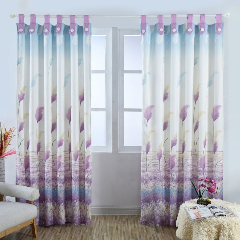 Starfish Reed Cotton Curtain Floral Curtains For Living Room Kitchen Bedroom Modern Affiliate