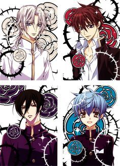 kiss of the rose princess characters - Google Search | Anime