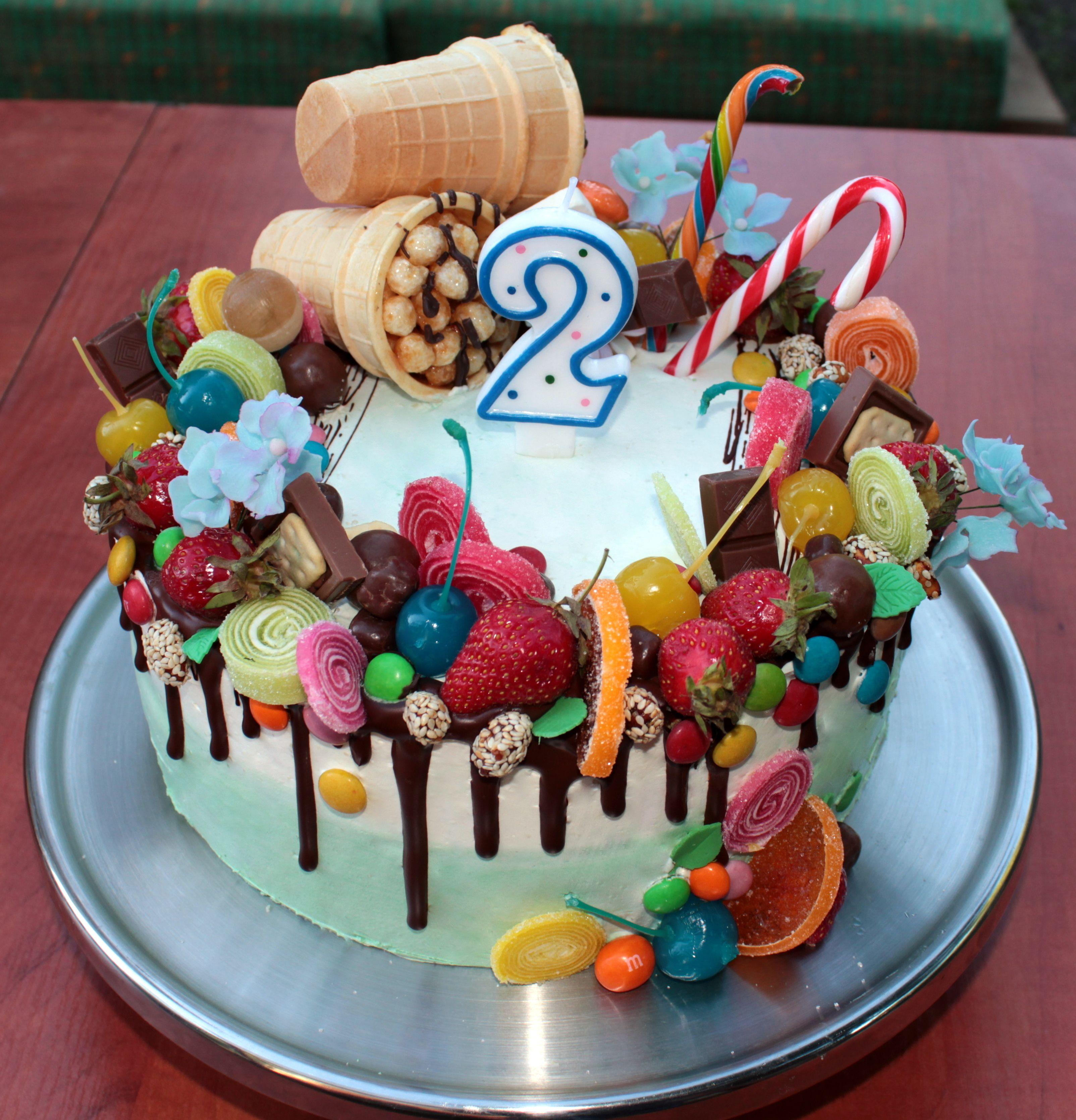 украсить торт с днем рождения мальчику