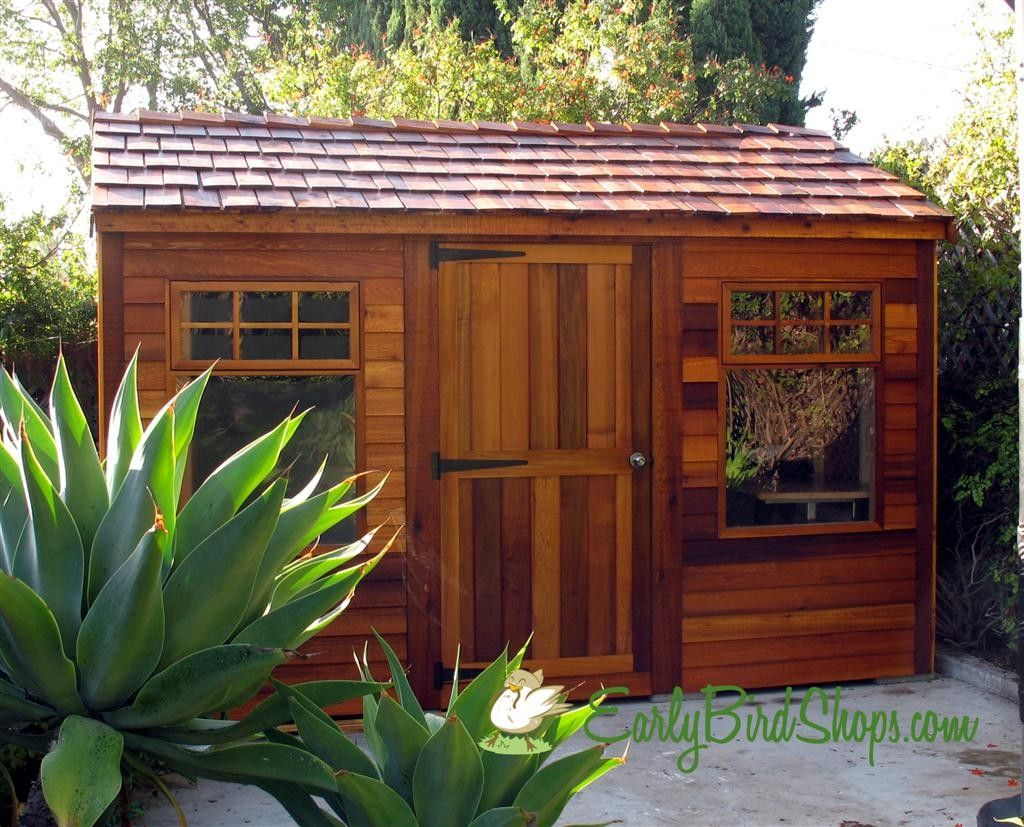 shed guest house cedarshed haida 12x8 shed studio shed kit