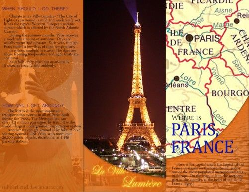35 Inspirational Examples Of Travel Brochures   Art217 Brochure     10 Travel Brochure Back