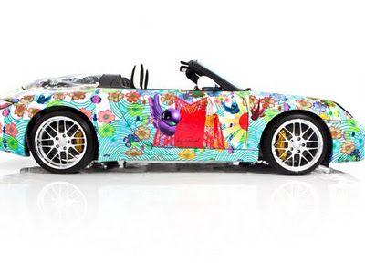 Porsche 911 Speedster Art Car by Miguel Paredes