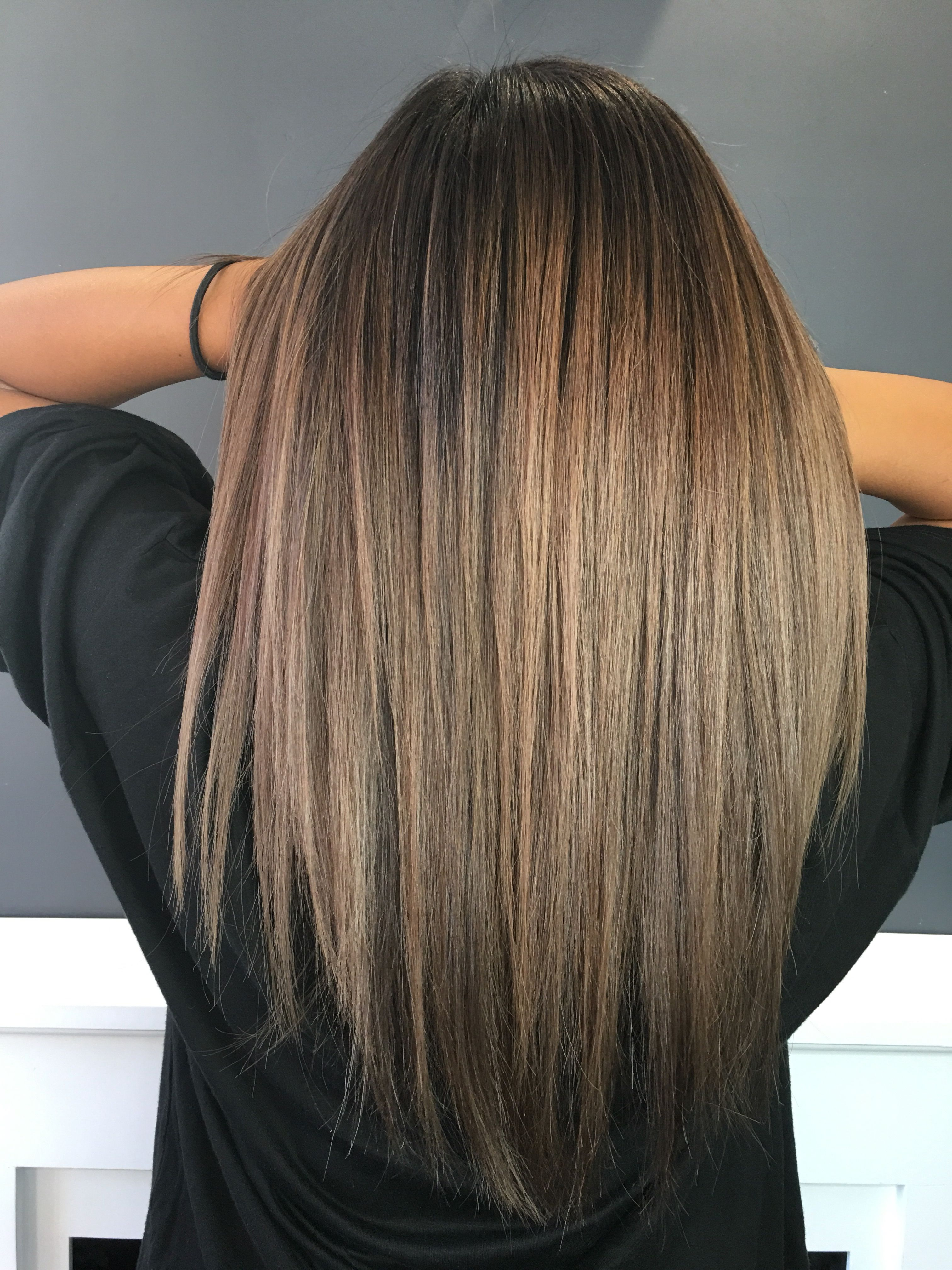 Ombre hair #brownhaircolors