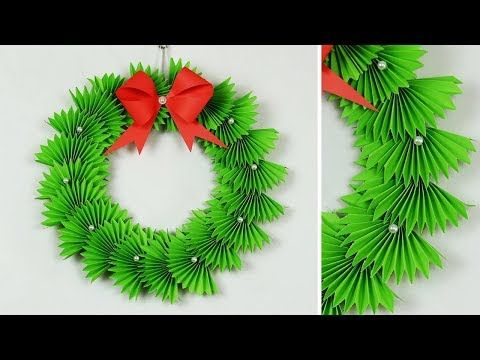 Photo of Paper Christmas Wreath   How To Make Christmas Wreath   Christmas Decorations Ideas