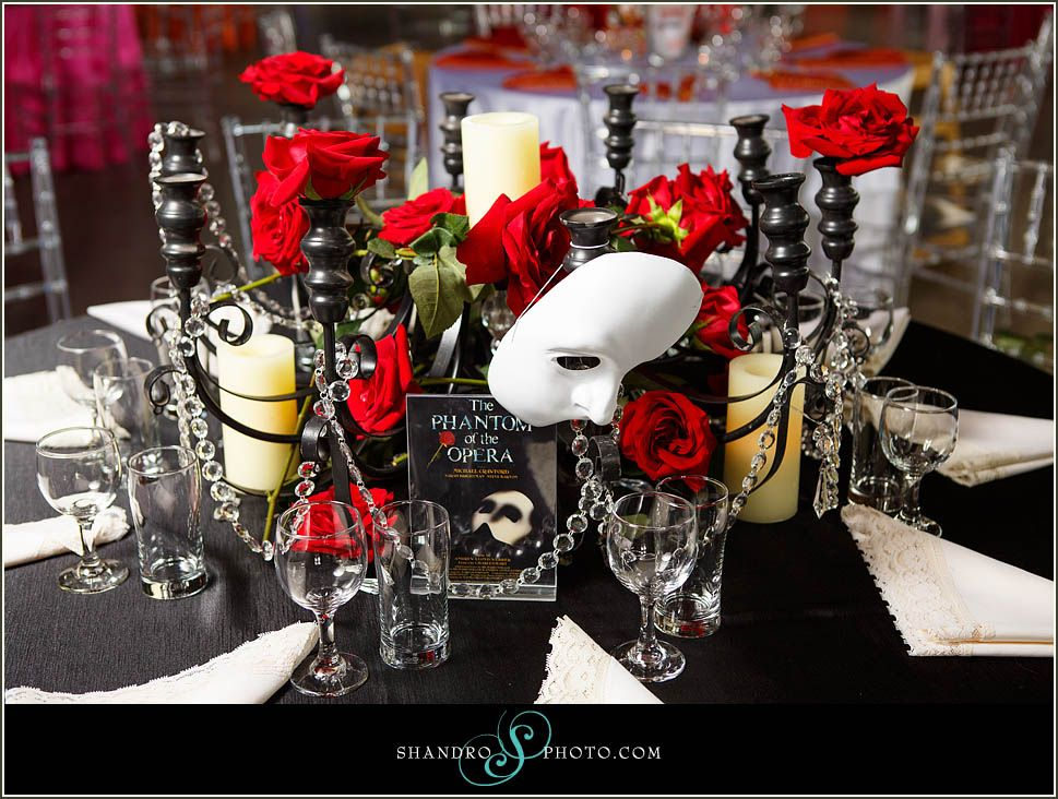 tips a theatre themed wedding theatre tokens | Phantom of the ...