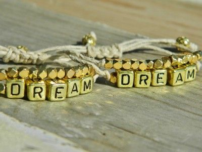'Dream' Inspiration bracelets by:-Lailidalloul