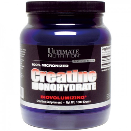 Ultimate Nutrition Creatine Monohydrate Creatine Monohydrate Nutrition Micronized Creatine
