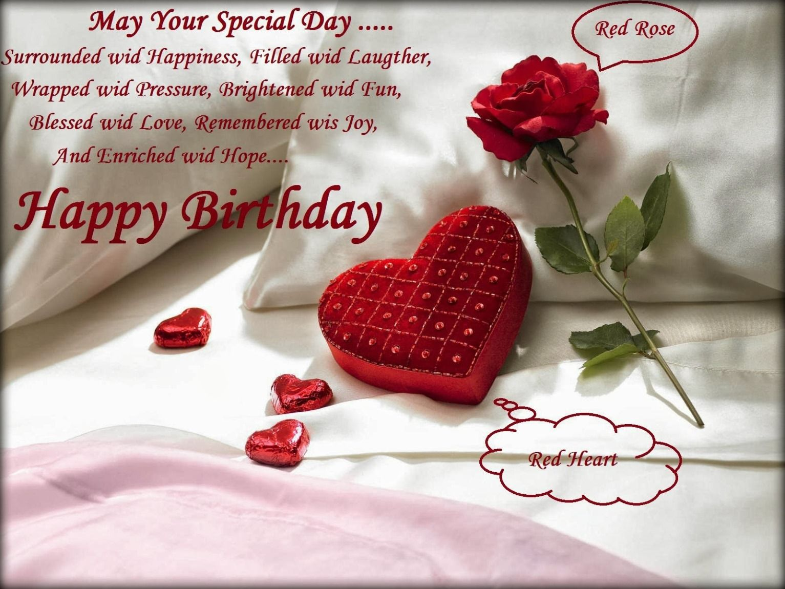 free download cute happy birthday quotes for girlfriend wallpaper
