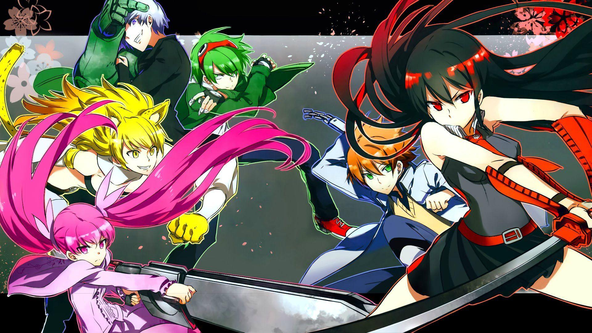 Alpha Coders Wallpaper Abyss Anime Akame Ga Kill! 554279