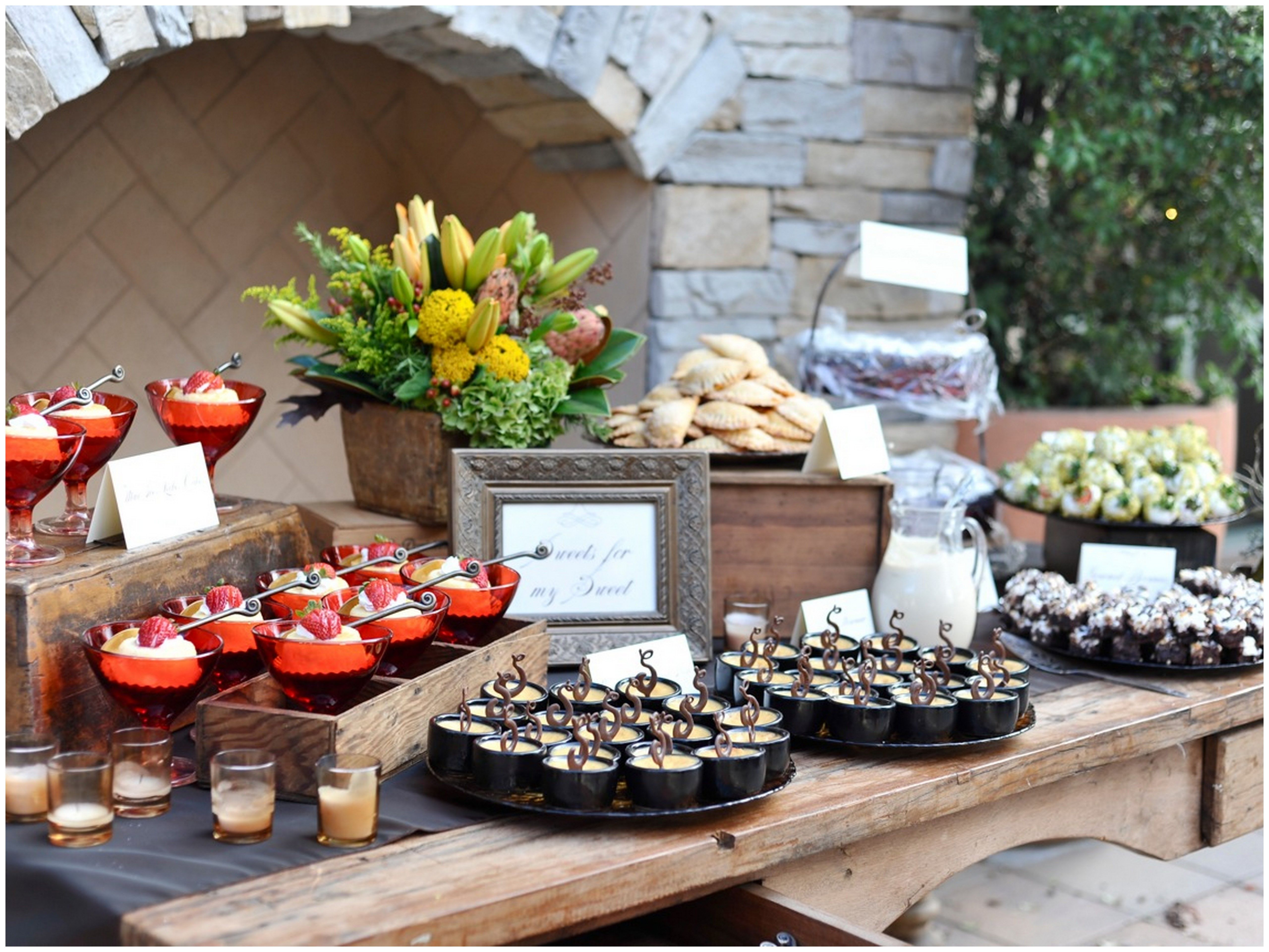 Dessert stations catering chronicles food for thought - Desserte table cuisine ...