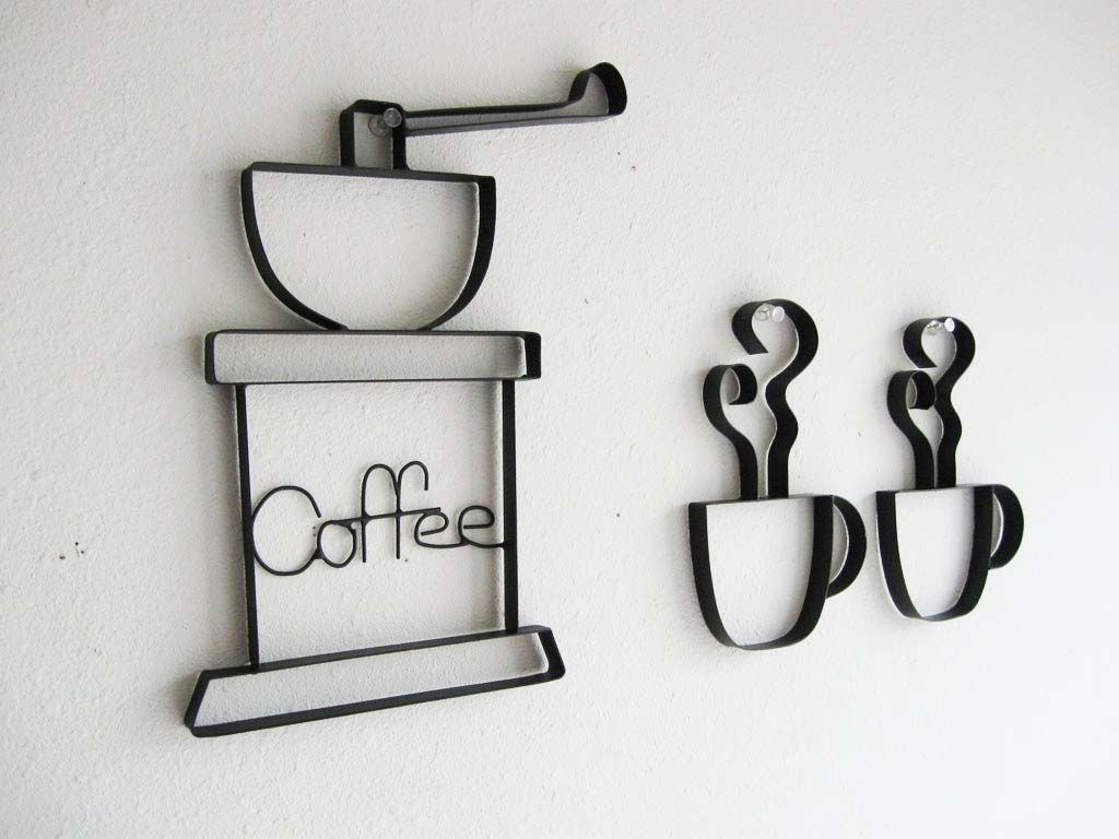 coffee decor - google'da ara | coffee | pinterest | coffee, metal