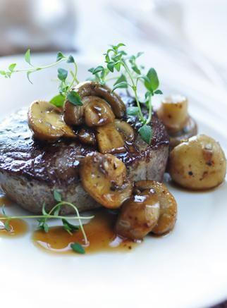 Grilled Steak & Mashed Potatoes