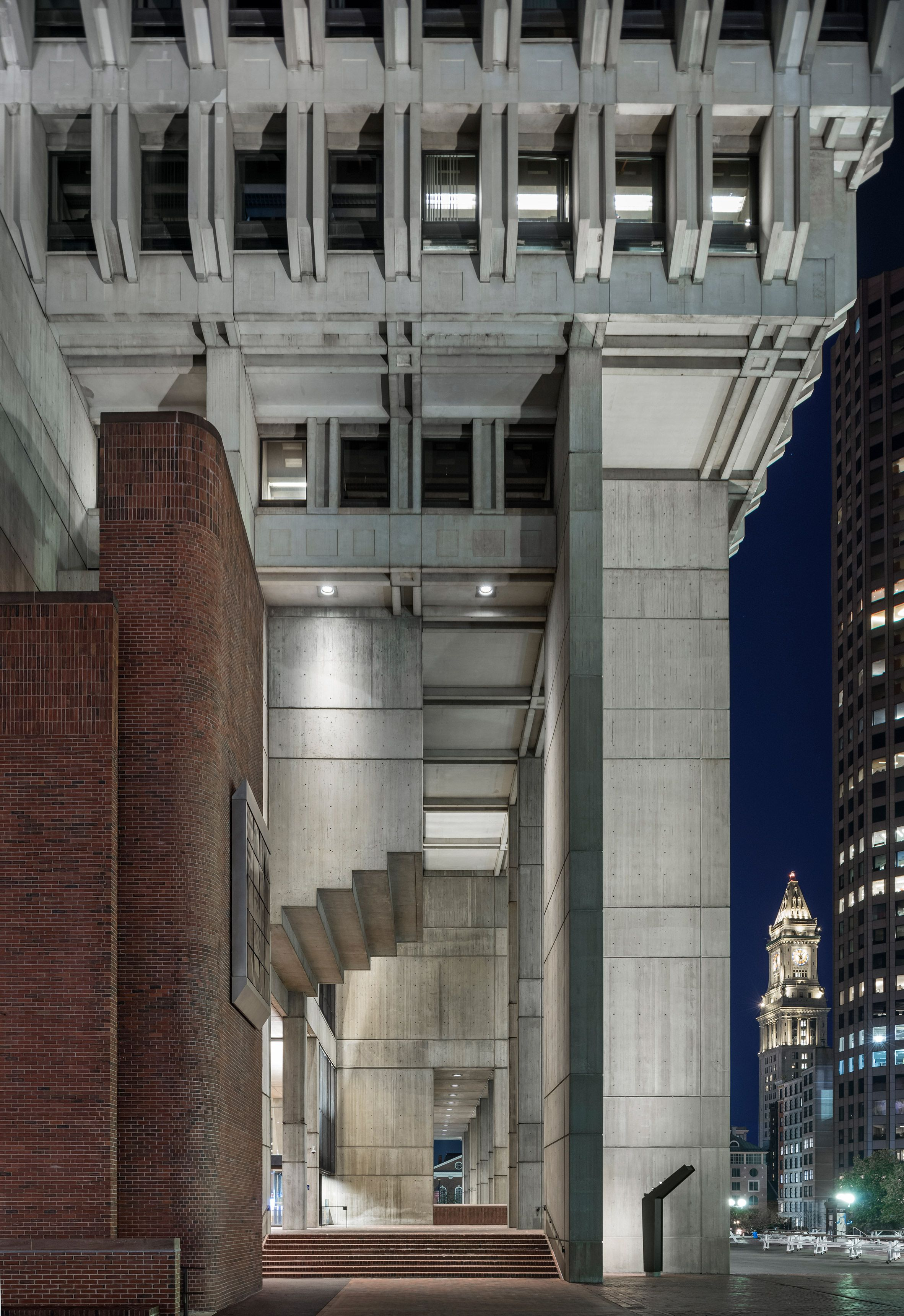 Boston City Hall Renovation Preserves Honesty Of Brutalist Building