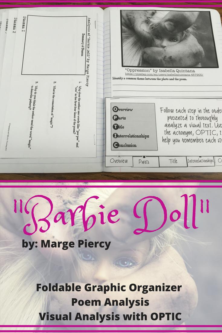 barbie doll by marge piercy analysis essay