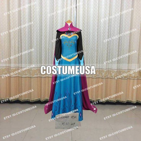Custom made Size Elsa Princess Cosplay Elsa Cosplay Dress Elsa Cosplay Elsa CostumeYou will Receieve:FullWe need those custom made size info from you, please.Total Height:Weight:Shoulder Width:Chest/Bust Circumference:Waist Circumference:Hips Circumference:Cell Phone Number:To those who want to make it with standard size, please refer to the size chart. After you choose size chart, we still need some of your actual size. Thanks for your understanding.[****Male Size****]Size----Height----Chest---