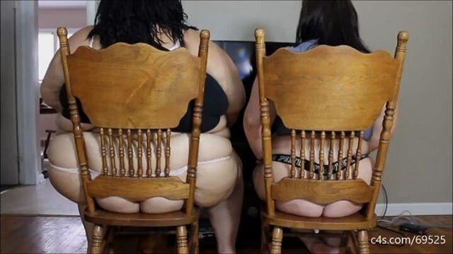 Bbw chair ass 4