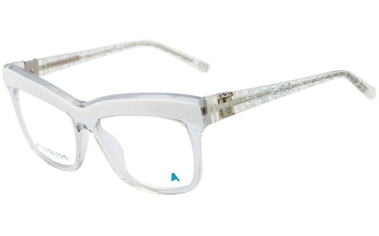 absurda santa clara oculos de grau branco e transparente lente 54 Santa  Clara, Eyewear, e65c0f04bc