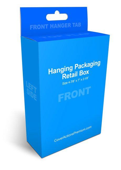 Download Free Hanging Box Mockup Box Mockup Custom Printed Boxes Mockup
