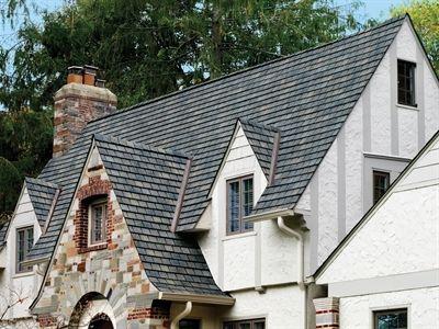 Best Gaf Slateline Mariner Blue Architectural Shingles Roof 400 x 300