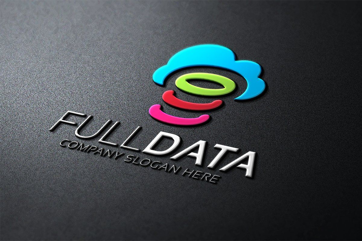 Cloud connect logo data logo connect logo cloud data