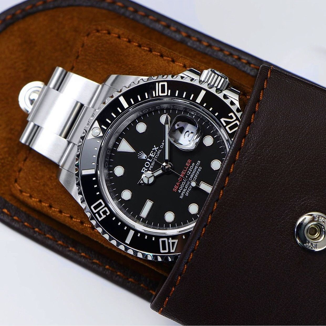 The Sea Dweller 43 Is Truly A Beautiful Watch We Are Super Excited To Be Making A Rubber Strap For It Whic Rolex Watches Rolex Sea Dweller Beautiful Watches