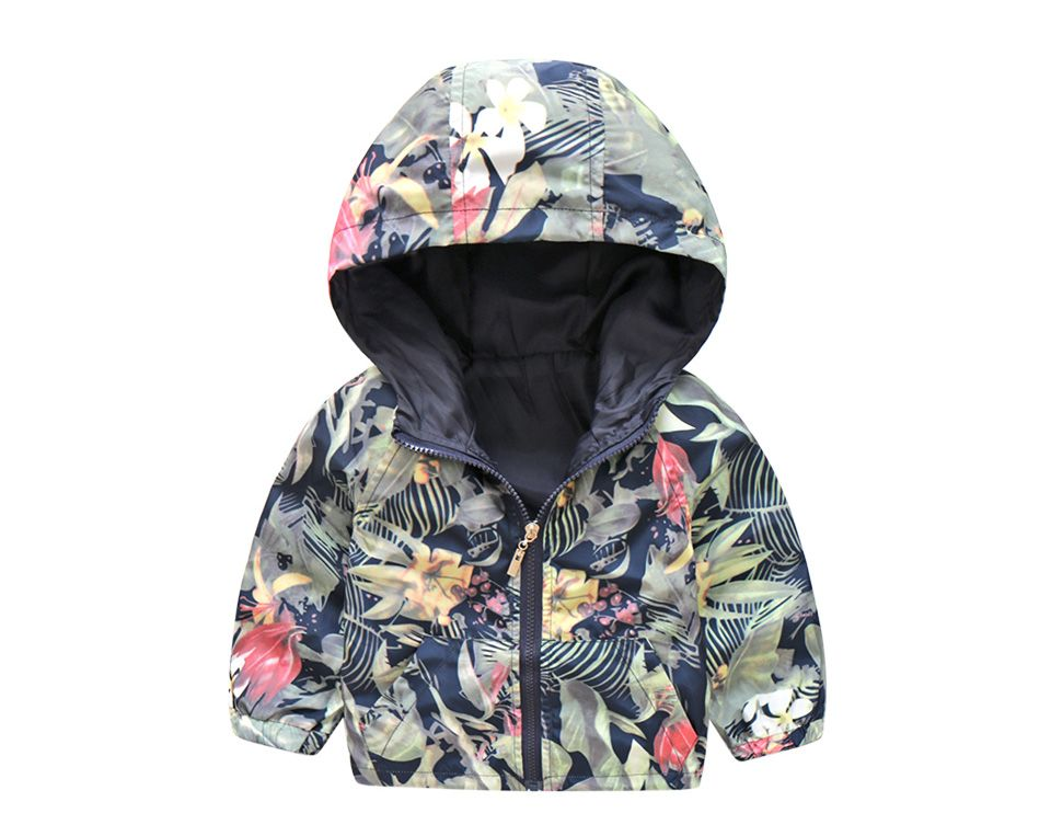a35b80201 Beautiful Camouflage Spring Jackets For Kids Baby Hooded Windbreaker ...