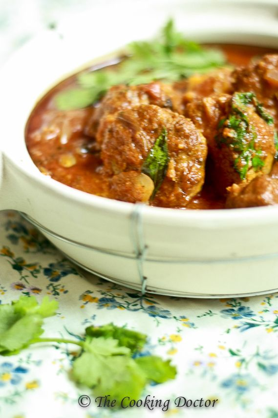East-meet-West Kofte curry: Cooking for friends | The Cooking Doctor