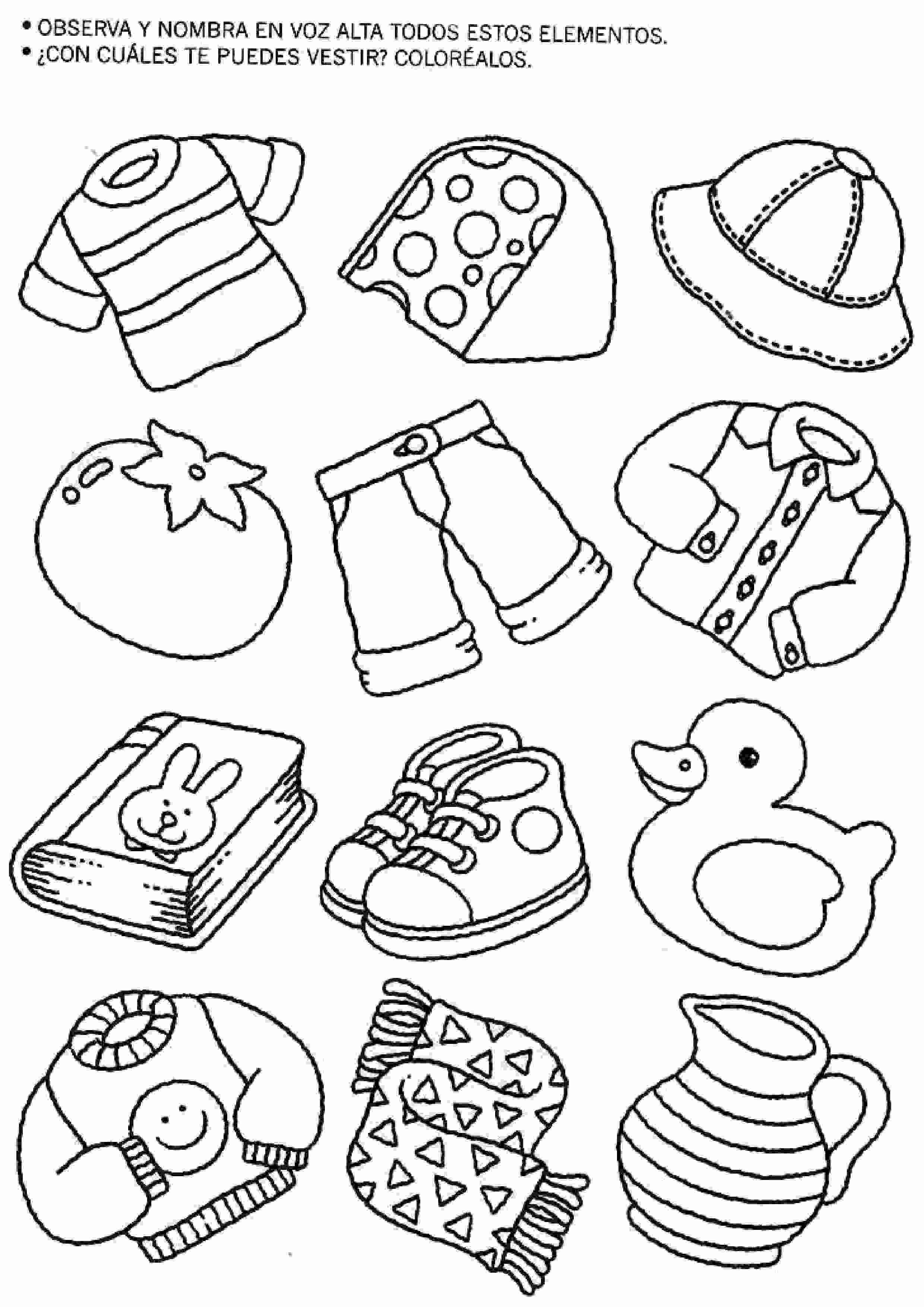 Actividades para ni os preescolar primaria e inicial - Actividades para ninos pequenos ...