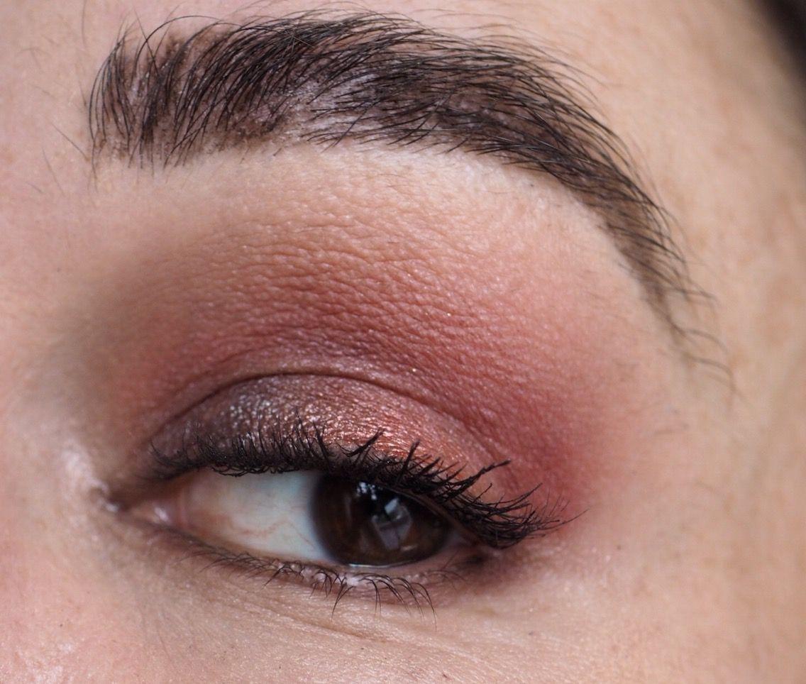 Makeup Revolution Soph X Eyeshadow Palette Eye Look