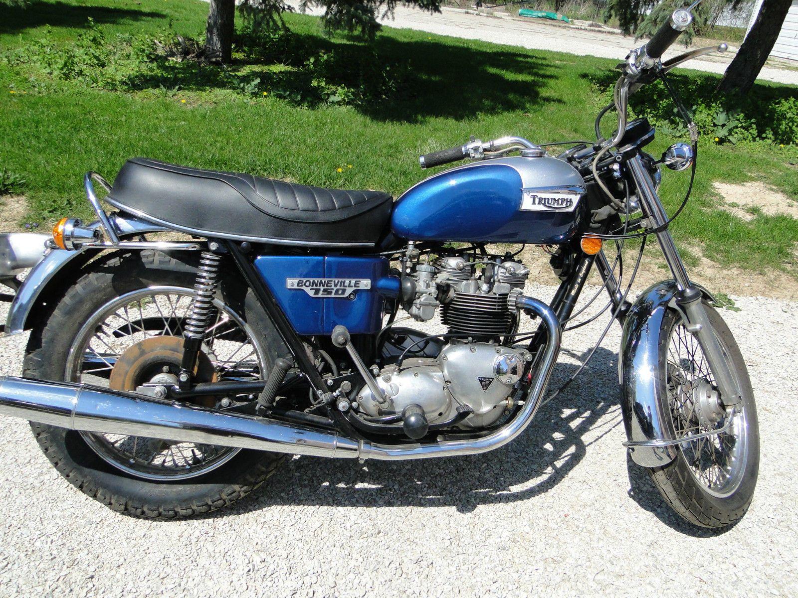 1976 Triumph Bonneville For Sale Triumph Bonneville Triumph Motorcycles Bonneville [ 1200 x 1600 Pixel ]