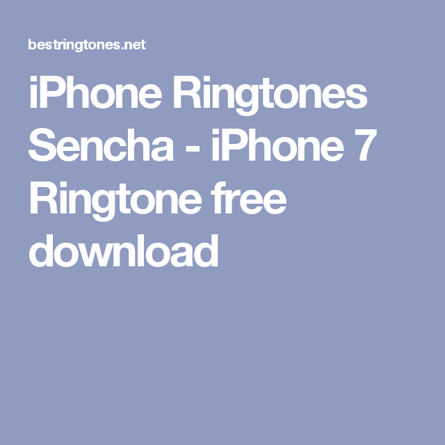 free download ringtones for iphone