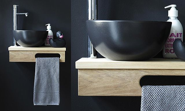 élément lave-mains mural Bathroom by Phuong Luong Hien Pinterest