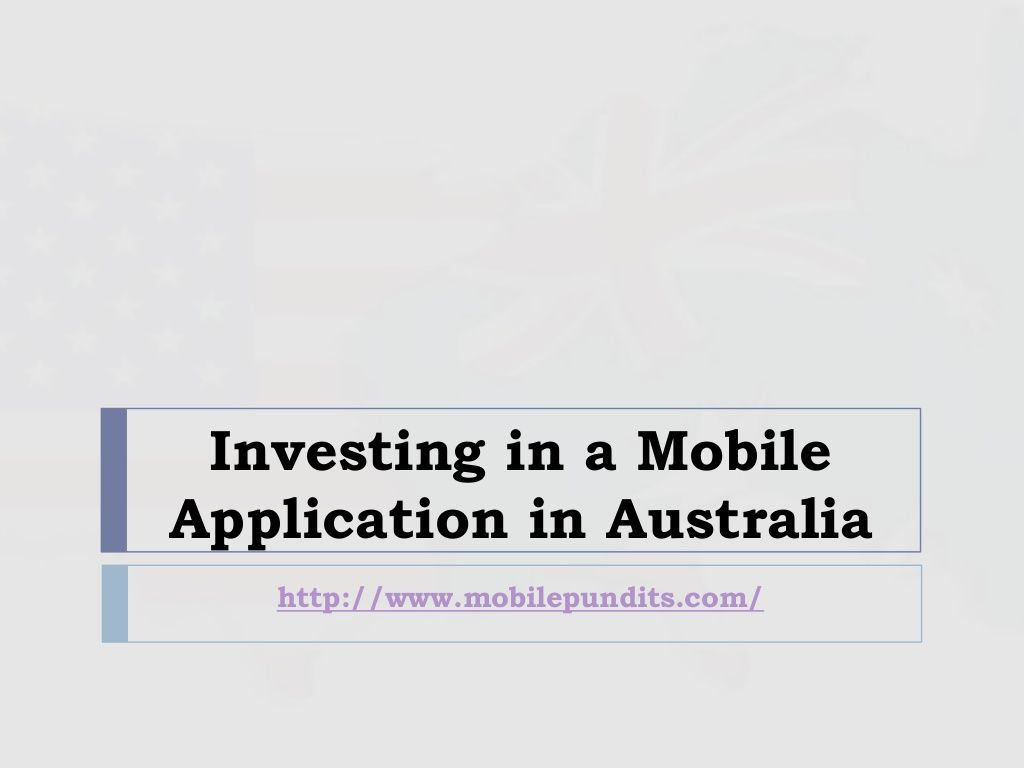MobilePundits leading App Development Services in Australia helps you get the best services at very competitive rates!