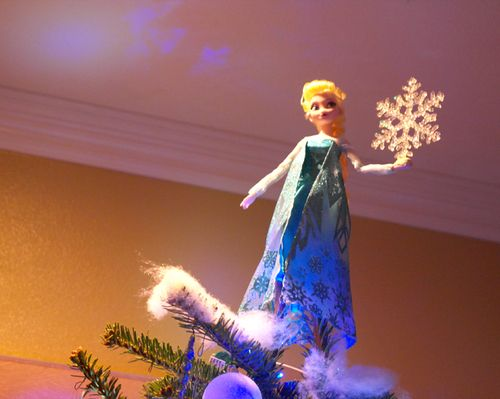 Disney's Frozen Elsa tree topper! | Disney's Frozen themed ...