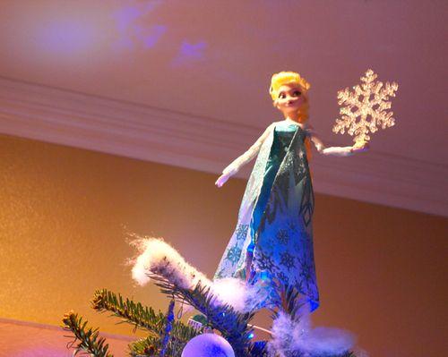 Disney's Frozen Elsa tree topper! | Disney's Frozen themed ...