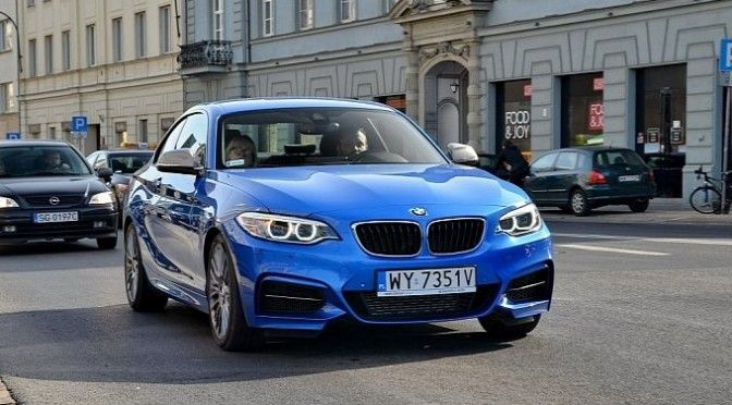 New BMW M235i Dotted In Estoril Blue  Sapphire BlackLook Pictures