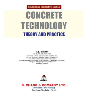Concrete Technology Theory Practice By M S Shetty All Types Of Books Mostly Civil Engineering Civil Engineering Books Books Bookstore